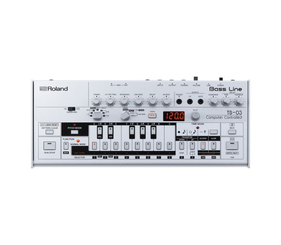 Roland TB-03 Bass Synthesiser - Top