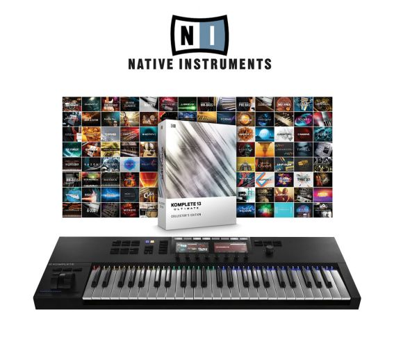 Native Instruments S49MK2 & Komplete 13 Ultimate Collectors Edition Main