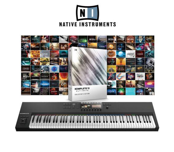 Native Instruments S88MK2 & Komplete 13 Ultimate Collectors Edition