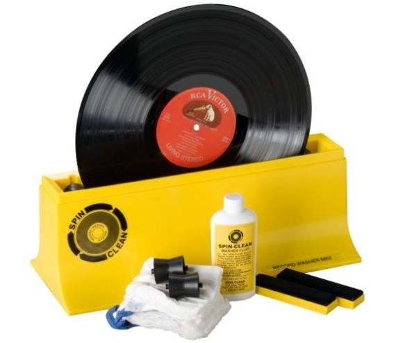 Spin Clean Vinyl Washer System