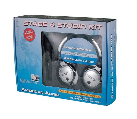 American DJ Stage/Studio Mic Kit