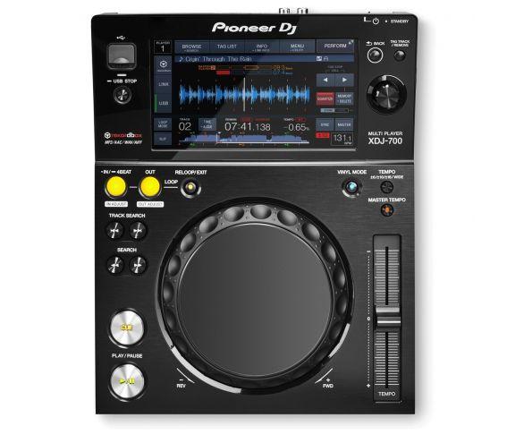Pioneer XDJ-700 Multiplayer Top