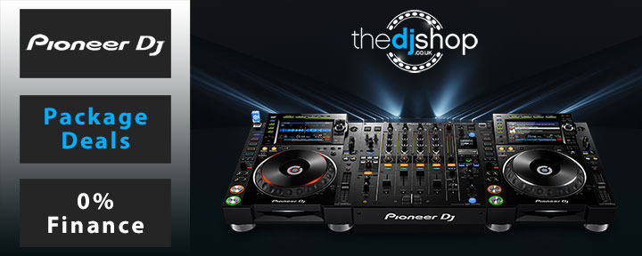 The UK's No 1 0% DJ Equipment Finance Retailer!