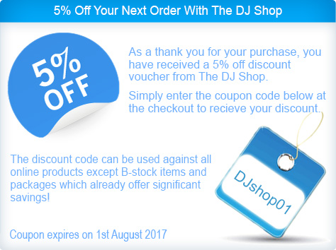 5% Off Discount Coupon