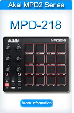 Akai MPD 218 Pad Controller