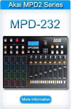 Akai MPD 232 Pad Controller