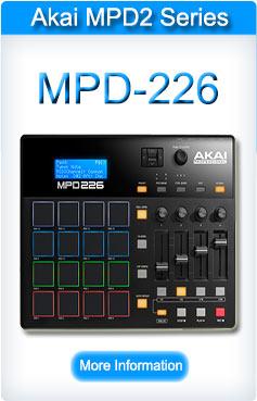 Akai MPD 226 Pad Controller