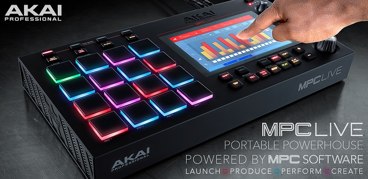 Akai MPC Live Music Production Centre
