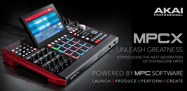 Akai MPC X Music Production Centre