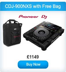 Pioneer CDJ-900NXS Professional Multi Player with Free Soft Bag