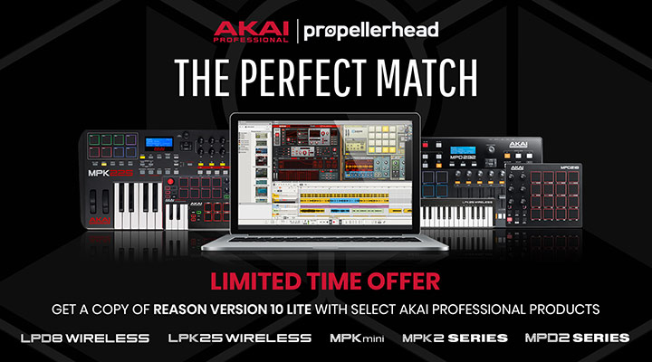 Akai Professional join forces with Propellerhead