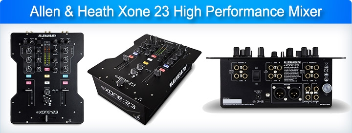 Allen & Heath Xone 23 High Performance Mixer