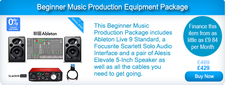 Beginner Music Production Equipment Package