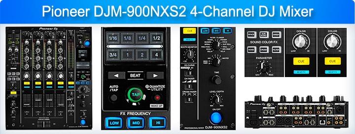DJM-900NXS2 DJ Mixer
