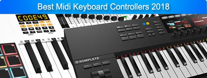 Best Midi Keyboard Controllers 2018
