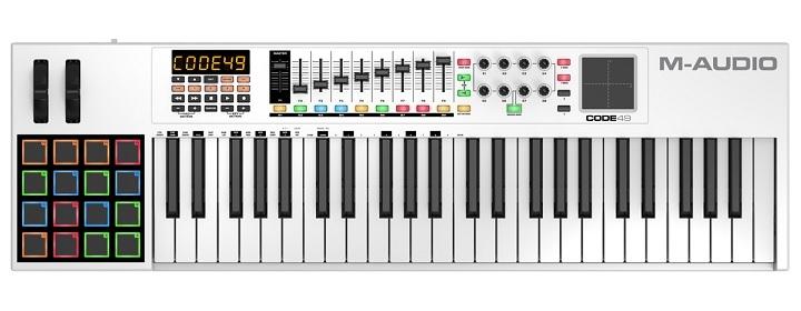M-Audio Code 49 MIDI Keyboard Controller