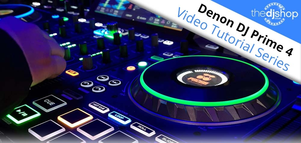 Denon DJ Prime 4 Video Tutorial Series
