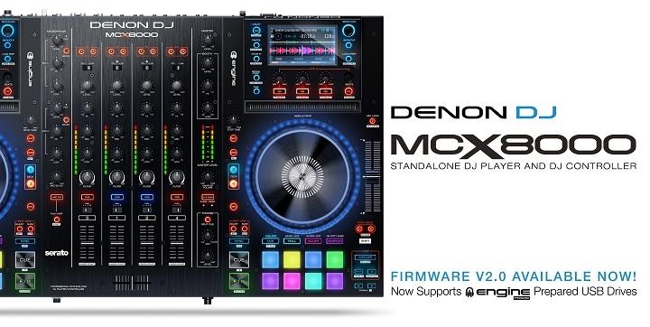 Denon DJ Release Engine Prime v1.2.1 and MCX8000 v2.0 Updates