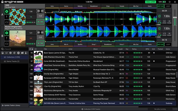 Denon DJ version 1.2 firmware