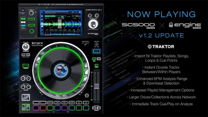Denon DJ releases awesome new firmware v1.2 update
