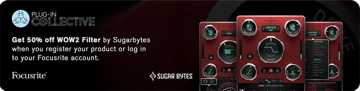 50% discount off Sugar Bytes' WOW2 creative multi-filterbox