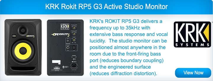 KRK RP5 G3 Studio Speakers