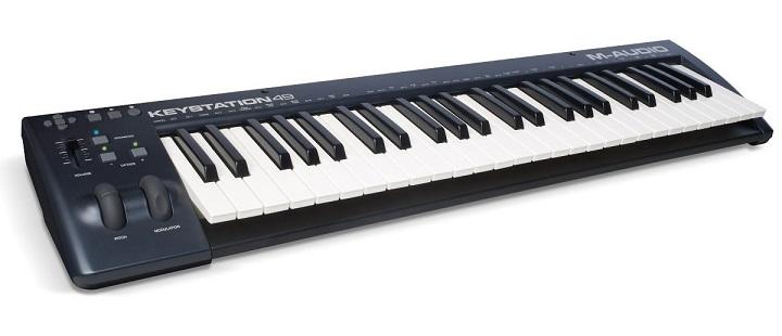 M-Audio Keystation 49 MIDI Keyboard Controller