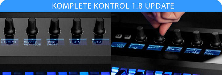 KOMPLETE KONTROL 1.8 update