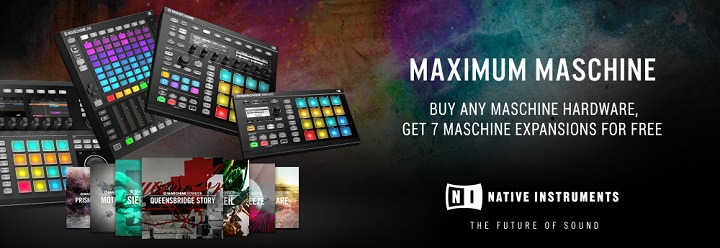 Native Instruments Maschine FREE Expansion pack offer