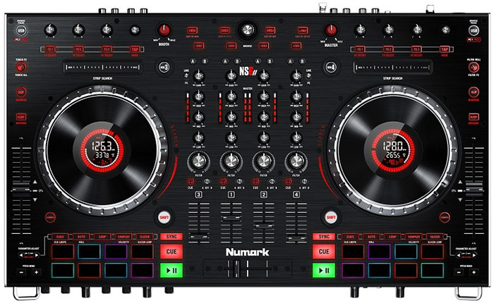 Numark NS6II 4-channel Serato DJ Controller