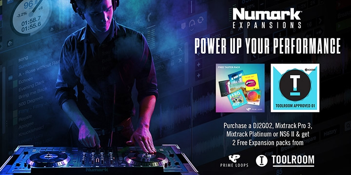 Exclusive Offer: 2 FREE Remix Kits When Purchasing Select Numark Controllers