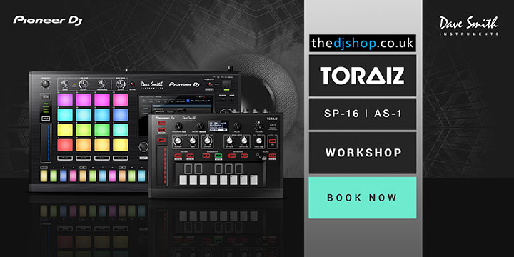 Pioneer DJ presents the TORAIZ AS-1 & SP-16 Tour in Southampton