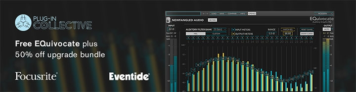 Focusrite's latest Plug-in collective offer