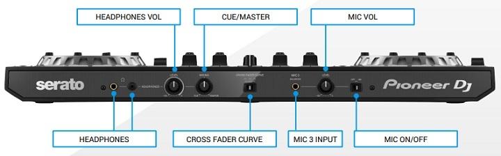 Pioneer DDJ-SX3 Serato DJ Controller Front
