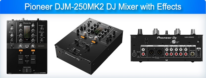 Pioneer DJM-250MK2 DJ Mixer with Effects