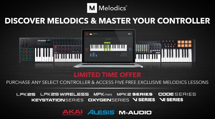 Receive Five Exclusive Lessons for Free from Melodics