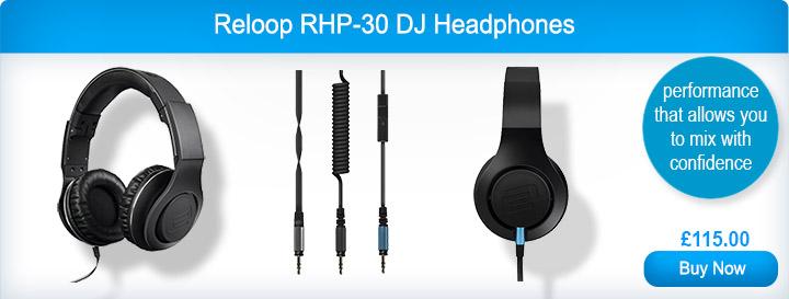 Reloop RHP-30 DJ Headphones
