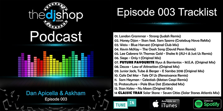 The DJ Shop Podcast 003