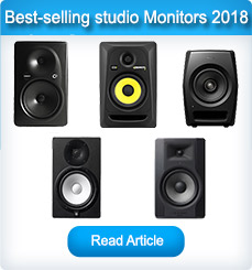Our Top 5 best-selling Active studio monitors 2018