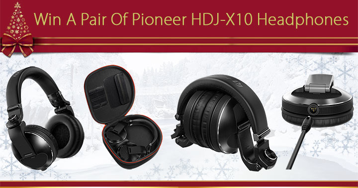 Win A Pair Of Pioneer HDJ-X10 Headphones Worth £299