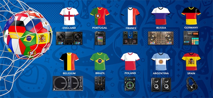 The DJ Shop World Cup 2018 Competition