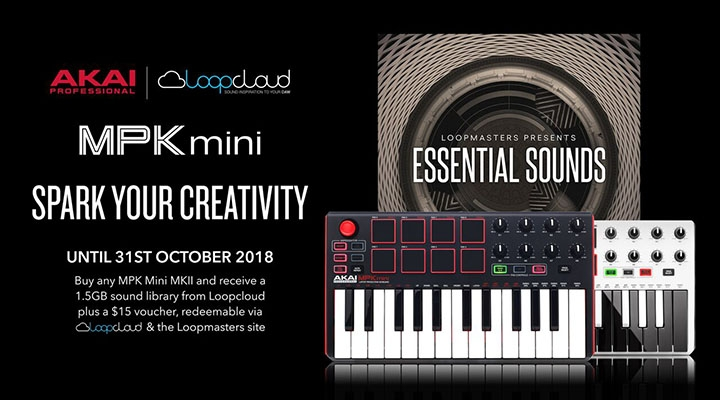 Akai Professional X Loopcloud | Limited Time Promotion