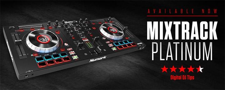 Numark Mixtrack Platinum Starter DJ Controller