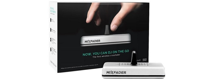 Mixfader - Industry's first portable wireless fader!