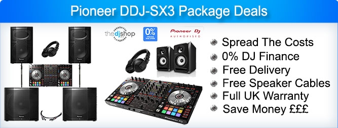 Pioneer DDJ-SX3 Package Deals