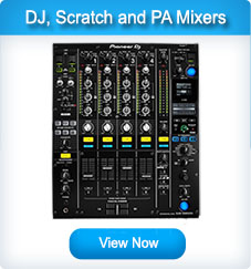 DJ Mixers, Scratch Mixers, PA Mixers and Mixing Desks