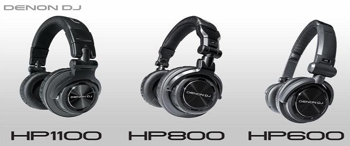 Denon HP1100 HP800 HP600 DJ HeaDdphones