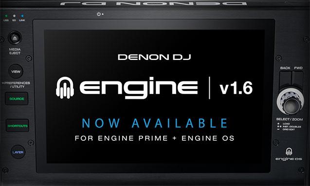 Denon DJ Engine v1.6 Update