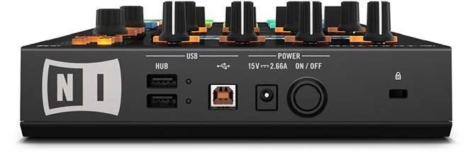 Traktor Kontrol D2 EFFICIENT CONNECTIVITY
