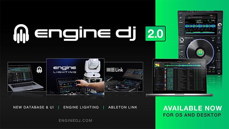 New Engine DJ 2.0 Firmware Update